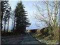 SO3178 : Lane to Pen-y-cwm by Trevor Rickard