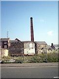 J0153 : Factory Chimney, Cowdy Anthony & Sons, Portadown by P Flannagan