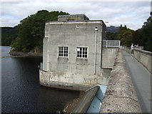 NN9357 : Pitlochry Dam by Jonathan Billinger