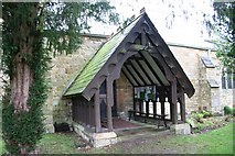 TA0114 : St.Clement's church porch by Richard Croft