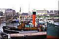 TQ3480 : Steam tug Portwey, St Katharine Docks by Chris Allen