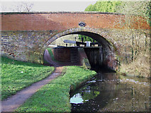 SO8687 : Gothersley Bridge and Lock, Staffordshire and Worcestershire Canal by Roger  Kidd