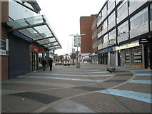 SU6400 : Shopping arcade just off Commercial Road by Basher Eyre