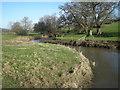 SO2499 : Camlad from Shiregrove Bridge by Row17