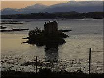 NM9247 : Castle Stalker, Loch Laich by James Denham