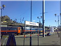 NZ2463 : Newcastle railway station platform by Stacey Harris
