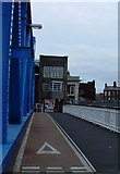 TA1029 : North Bridge Cycle Track, Hull by Peter Church