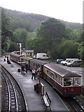 SH6441 : Tan y Bwlch station by Rudi Winter