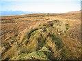 NG1651 : Old wall below Ben Ettrow by John Allan