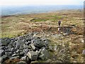 NY6734 : The way down Cross Fell by Oliver Dixon