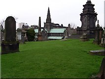 NS6065 : Glasgow Cathedral from the Necropolis by Stephen Sweeney
