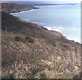 SX4248 : Coastline to Penlee Point by Trevor Rickard