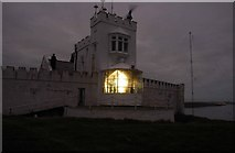 SH4793 : Point Lynas Lighthouse by Anonymous