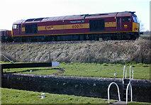 SU2662 : Work train near Crofton by Nigel Brown