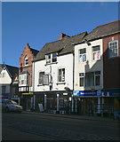 SJ0566 : Denbigh town centre by Eirian Evans