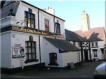 SJ0566 : Eagles Inn, Denbigh by Eirian Evans