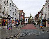 SU8604 : Market Cross from South Street by Simon Carey
