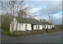 NS3618 : Woodend Cottages by Mary and Angus Hogg