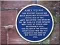 Photo of John Bridgeman and Abbey Square, Chester blue plaque