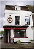 TQ7668 : The King George V pub, Old Brompton by Nicole Cargill-Kipar