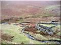 SD6595 : Sheepfold at confluence of Bram Rigg Beck and Swarth Greaves Beck by Phil Johnstone