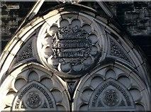 J3472 : Cooke Centenary Presbyterian Church, Belfast [detail] by Rossographer