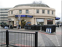 TQ2882 : Great Portland Street tube station by Nigel Cox
