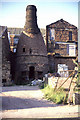 SJ9142 : Bottle oven, Minkstone Works, Longton by Chris Allen