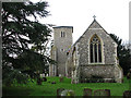 TG0008 : St Mary's Church in Whinburgh by Evelyn Simak