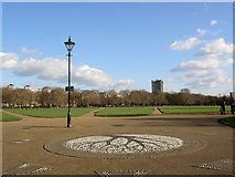 TQ2780 : The Centre of Hyde Park by Steve  Fareham
