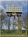 SE9832 : Little Weighton water tower by Paul Harrop