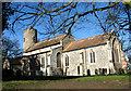 TG5003 : The church of St Nicholas in Bradwell by Evelyn Simak