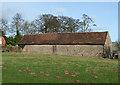 SO5689 : Old Barn, Holdgate, Shropshire by Roger  Kidd