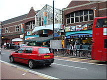 TQ2775 : Entrance to Clapham Junction Railway Station / Shopping Centre by Stacey Harris