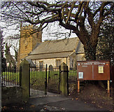 TA0816 : The Parish Church of St. Andrew, Wootton by David Wright