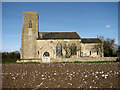 TG1007 : St Botolph's Church in Barford by Evelyn Simak