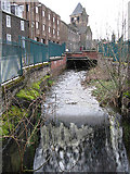 NT4935 : The mill lade in Paton Street by Walter Baxter