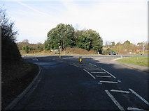 TR3153 : Junction of the Northbourne Road with the A256 Eastry bypass by Nick Smith