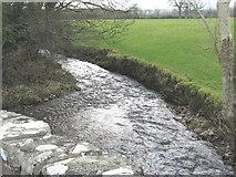 SH3537 : Afon Rhyd-hir below Pont-y-Gribin by Eric Jones