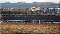 NT1772 : Site of new Edinburgh tram depot by Calum McRoberts