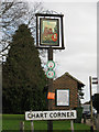 TQ7950 : Chart Sutton village sign by Oast House Archive