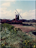 TG0444 : Cley windmill by Mike Pennington