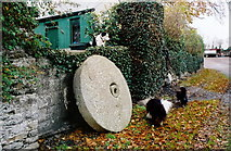 N9175 : Millstone at Roestown, Co. Meath by Kieran Campbell