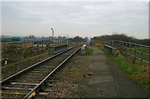 TA0623 : Railway Bridge at Barrow Haven by David Wright