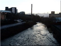 NS5666 : River Kelvin at Partick by Stephen Sweeney