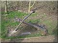 TA2369 : Flamborough Head - South Landing sculpture by Nicholas Mutton