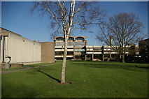 TL4359 : Churchill College by Fractal Angel
