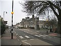 NS9697 : Zebra crossing, Dollar by Richard Webb