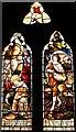 SO8240 : The Harvest Window, Hook Church by Bob Embleton