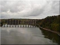 NT9953 : The Royal Border Bridge by Daniel Robertson